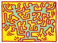 growing, [2] by keith haring